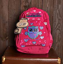 Рюкзак шкільний 312 з совою для дівчаток