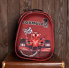 Рюкзак шкільний 1002 Formula 1 для хлопчика