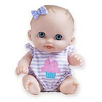 Кукла-пупс JC Toys Lil Cutesies All Vinyl Washable Doll Blue Eyes Lulu (Лулу с голубыми глазами)