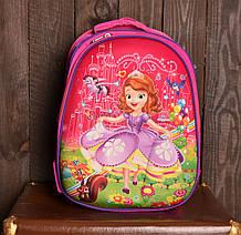 Рюкзак шкільний 1002 з принцесами для дівчаток