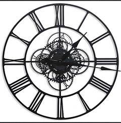 Интерьерные Металлические Часы.Berlin. Диаметр-60см