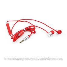 Вакуумные наушники Headset EF-E4 с плетеным кабелем и микрофоном, Качество