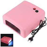 Ультрафиолетовая лампа для наращивания ногтей UV Lamp 36 Watt ZH-818, Качество