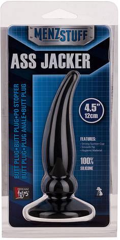 Анальная пробка Menz Stuff Ass Jacker, черная, фото 2