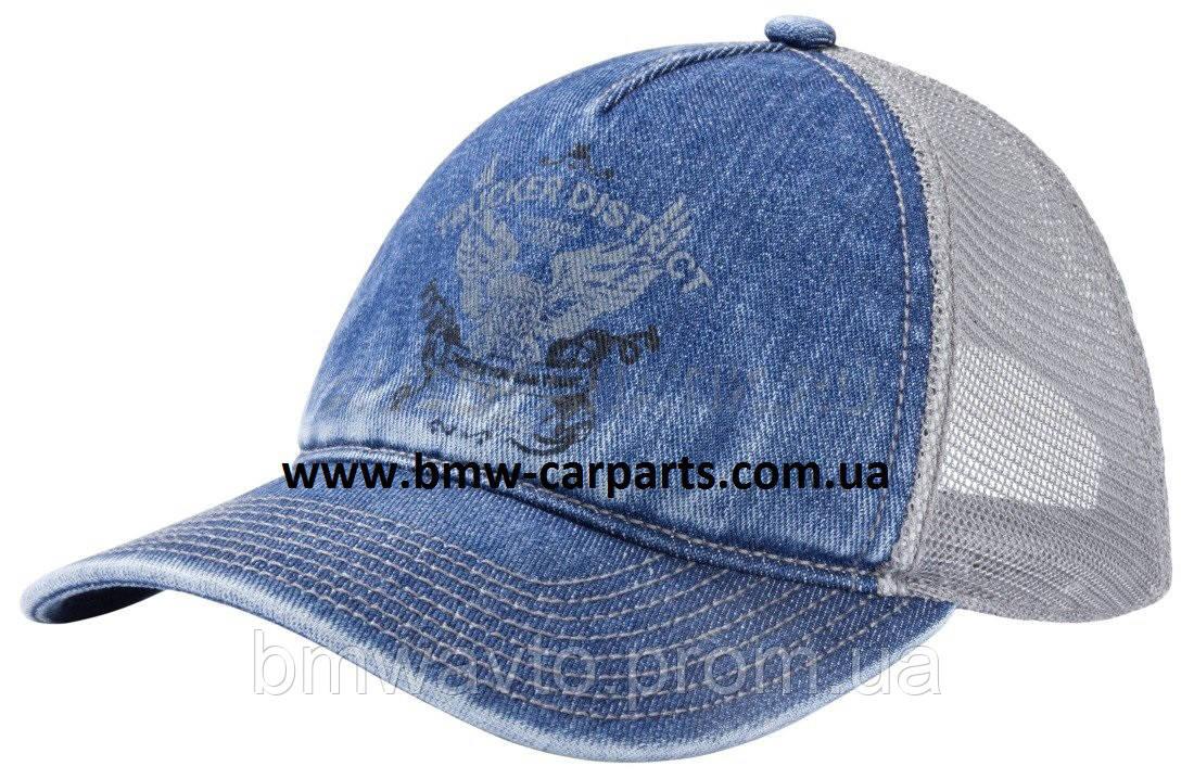 Мужская бейсболка Mercedes Trucker Disctrict Men's Cap