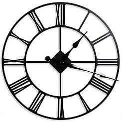 Интерьерные Металлические Часы Диаметр-60см
