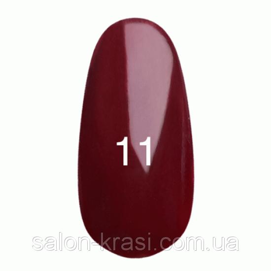 Гель лак Kodi №011 Ализариновый красный 12 мл
