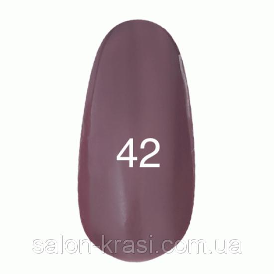 Гель лак Kodi №042 Бледно-коричневый, эмаль12 мл