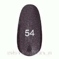 Гель лак Kodi №054 Черный с перламутром 12 мл