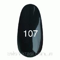 Гель лак Kodi №107 Черно-зеленый 12 мл