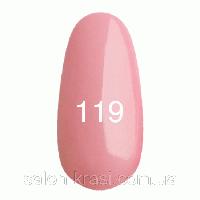 Гель лак Kodi №119 Розовый 12мл