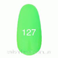 Гель лак Kodi №127 Неоновый зеленый 12мл