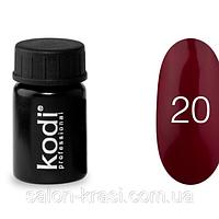 Гель краска Kodi №20