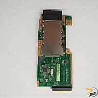 """Плата з Card Reader, USB, HDD, для ноутбука Asus B53, B53S, B53F, B53J, 60-n0li01000, 15.6"""", б/у."""