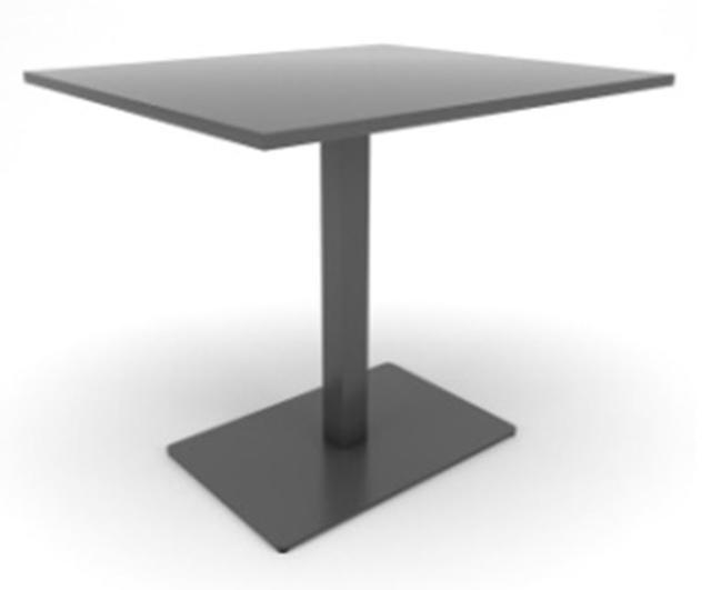 Опора для стола Milano Big Soft в комплекте со столешницей