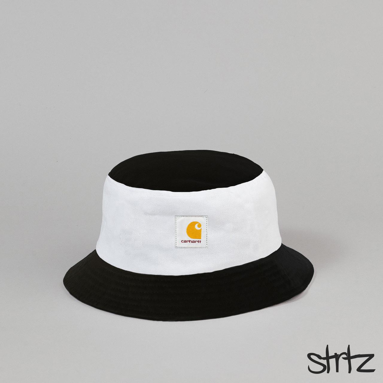 Панамка Carhartt черного и белого цвета (люкс копия)