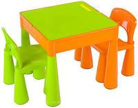 Комплект детской мебели Tega Baby Mamut стол и 2 стула Green/Orange