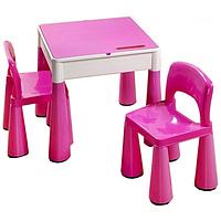 Комплект детской мебели Tega Baby Mamut стол и 2 стула Pink