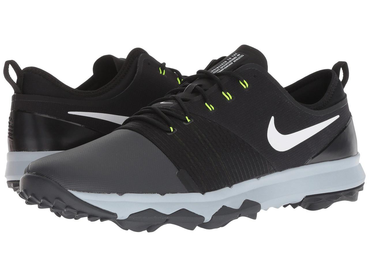 Кроссовки Кеды (Оригинал) Nike Golf FI Impact 3 Anthracite White Black a7f473e15b1