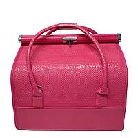 Чемодан для косметики (Бьюти-кейс) 4 Цвета Розовый