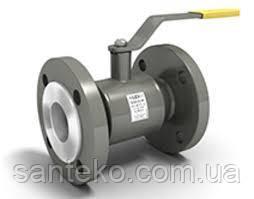 Кран стандартнопроходной LD кульовий сталевий фланцевий Ру=16 ДУ125/100