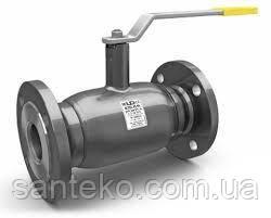 Кран полнопроходной LD шаровый стальной фланцевый  Ру=16  ДУ80