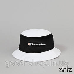 Панама Champion белого и черного цвета  (люкс копия)