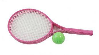 Детский набор для игры в теннис ТехноК (розовый) 2957
