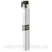 Песок для украшения ногтей Mileo Серебро