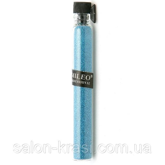 Песок для украшения ногтей Mileo Синий