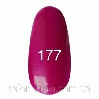 Гель лак Kodi № 177 Баклажановый, эмаль 12мл
