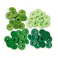 Люверси з широчезною шапочкою - Green - WeRMK