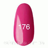 Гель лак Kodi № 176 Темно-розовый, эмаль 7 мл
