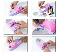 Набор машинка принтер штамп для дизайна ногтей стемпинга Hollywood Nails / Голливудские ногти, Качество