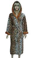 Халат женский леопардовый (soft) Soft show