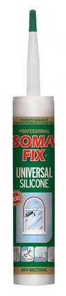 Силікон універсальний SOMA FIX 310 мл, коричневий, фото 2