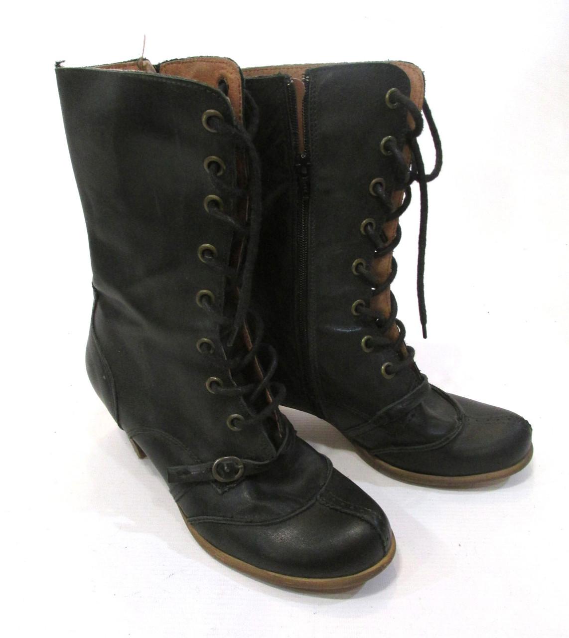 Сапожки кожаные Sacha, 39 (25 см), стильные, качественные, Отл сост!