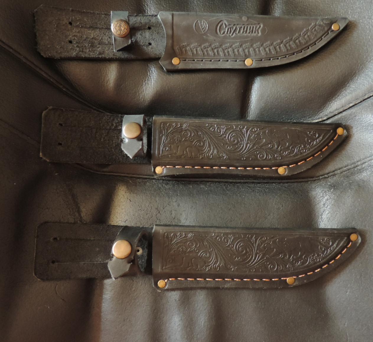 Чехол (кобура) для ножа. Натуральная воловья кожа - 4мм. Прочность и комфорт.