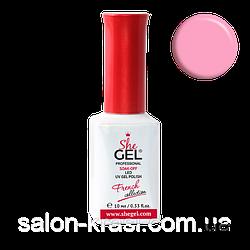 Гель лак French Коллекция SheGel SFP-08 Лавандово розовый