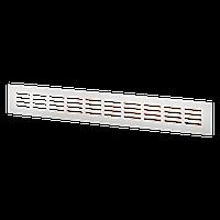 Вентиляционная решетка металлическа МВМА 500х80 Ан (анодированный алюминий)