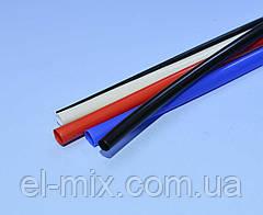 Трубка термоусадочная RSFR-105  D5.0/d2.5мм VW-1 черная, 1м  16-0105, Китай