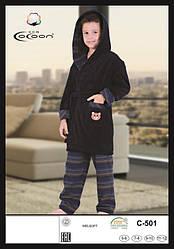 Детский комплект халат махровый CCNC 501