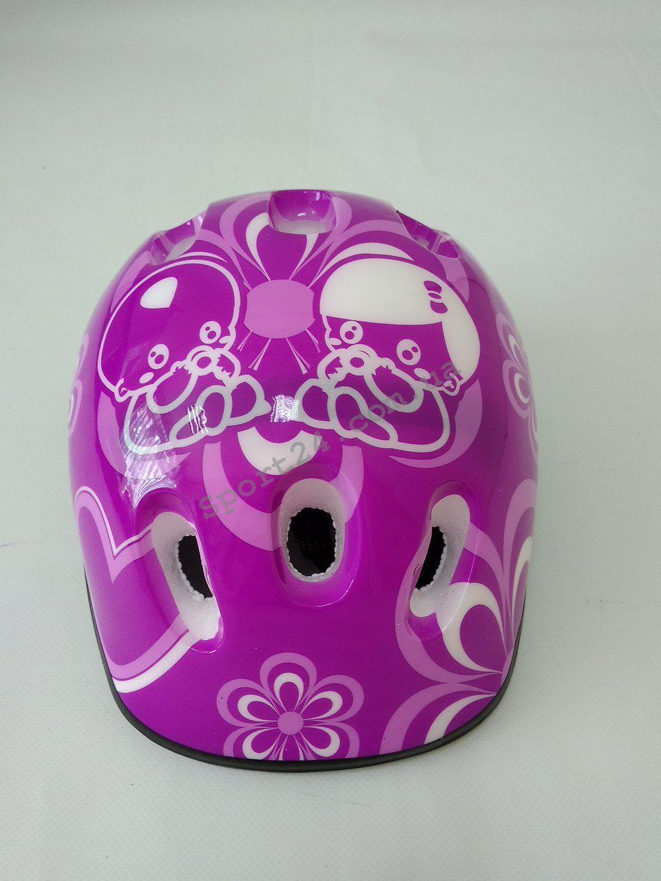 Защитный шлем для детей Baby, фиолетовый