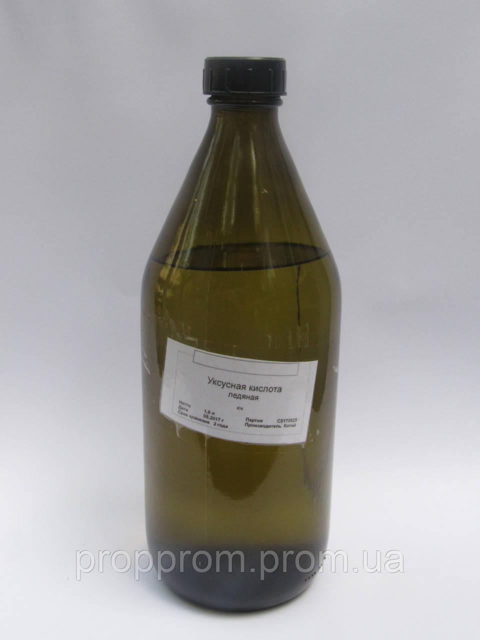 Ледяная Уксусная кислота 1л (стекло)