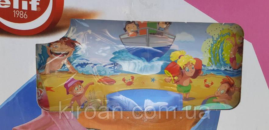 Комод пластиковый на 3ящика (Детский) голубой Турция, Elif Plastik, фото 2