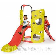 Ігровий комплекс вежа з гіркою Smoby Climbing Tower 840201