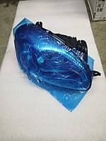 Фара передняя правая черный корпус с корректором, Ланос Сенс, 9632450-3, фото 1