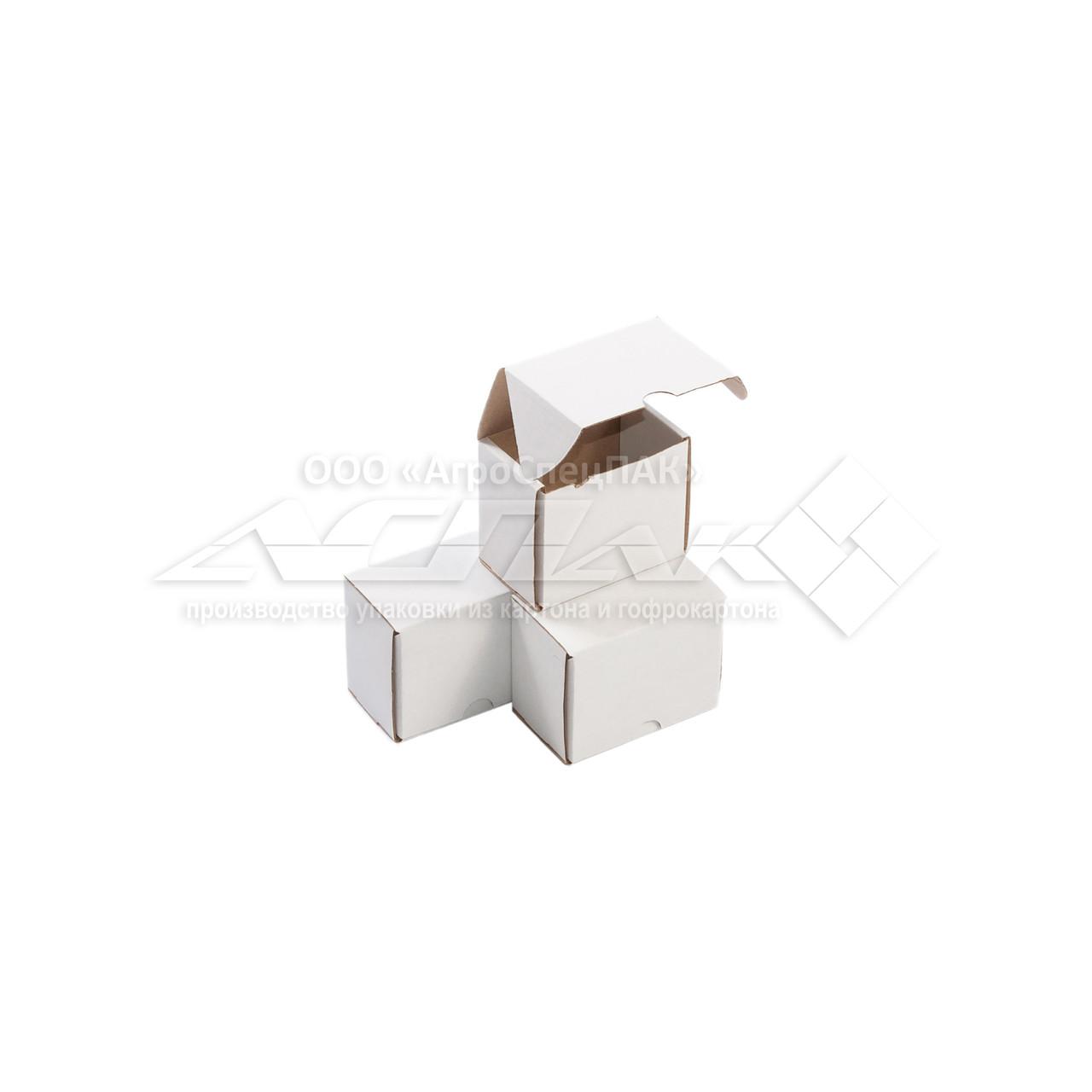 Картонные коробки 73х48х63 белые