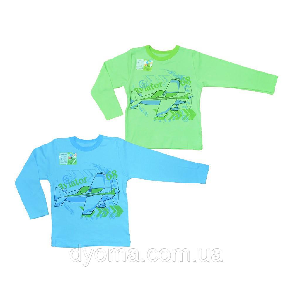 """Детская футболка с длинным рукавом """"Авиатор"""" для мальчиков"""