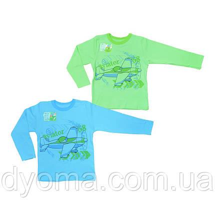 """Детская футболка с длинным рукавом """"Авиатор"""" для мальчиков, фото 2"""